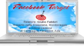 Webinar Gratuito: Facebook Target (disponibile la registrazione, iscriviti nel form)