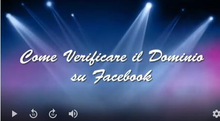Come evitare il ban di Facebook verificando il proprio dominio